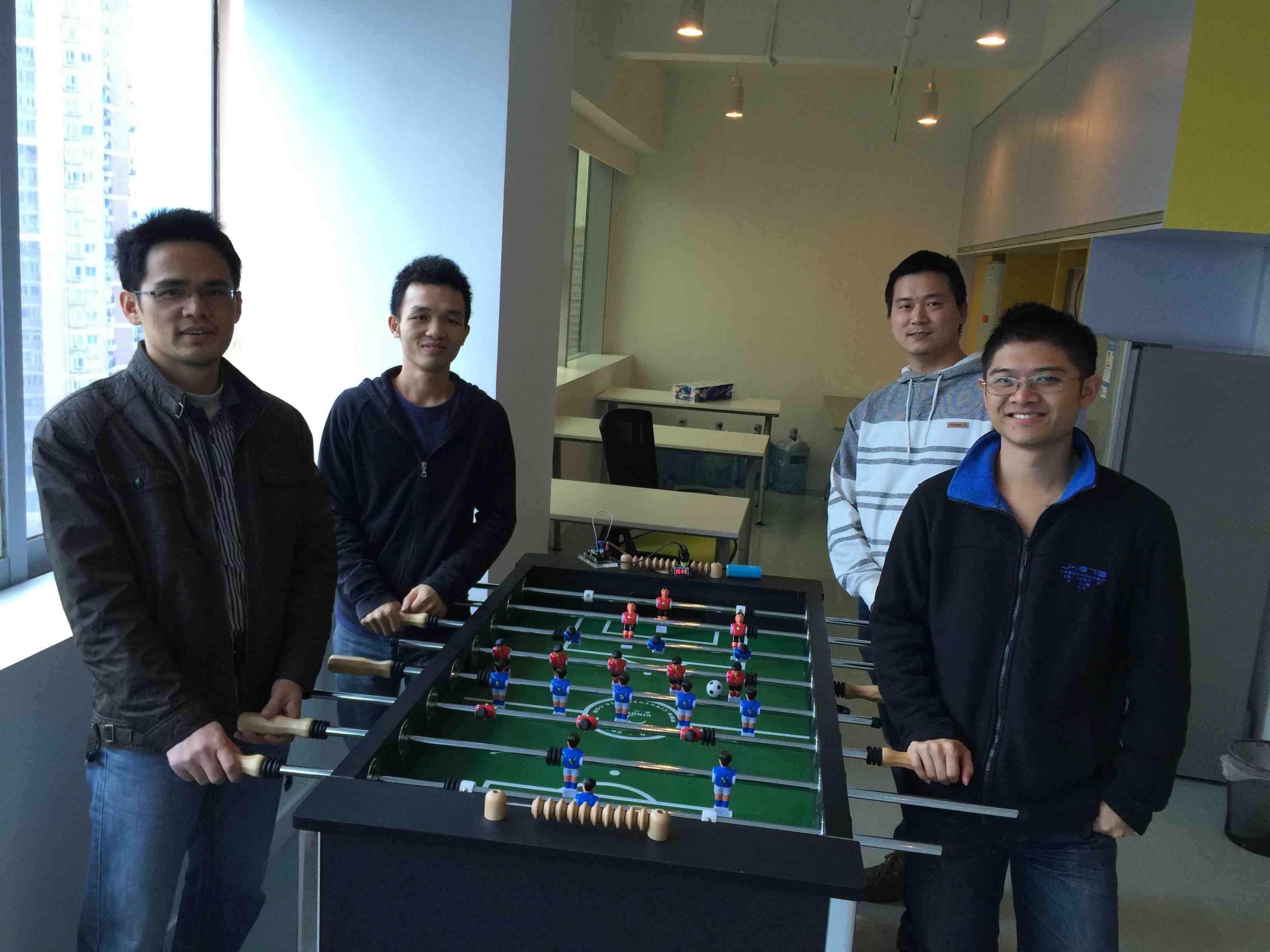 【开源项目】智能桌上足球